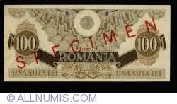 100 Lei 1947 (25. VI.) - SPECIMEN