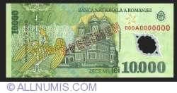 Image #2 of 10000 Lei 2000 SPECIMEN