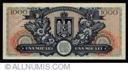 1000 Lei 1947 (25. VI.) - SPECIMEN