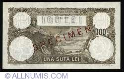 100 Lei 1930 SPECIMEN