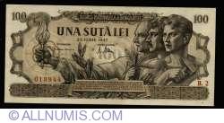 100 Lei 1947 (25. VI.)