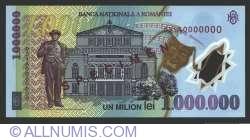 Imaginea #2 a 1000000 Lei 2003 SPECIMEN