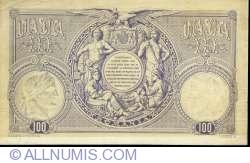 100 Lei 1877 (12 June) SPECIMEN