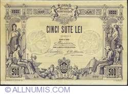 500 Lei 1877 (12 June) SPECIMEN