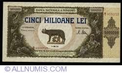 5,000,000 Lei 1947 (25. VI.)