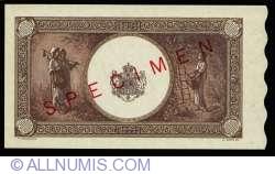 10000 Lei 1945 (18. V.) - SPECIMEN