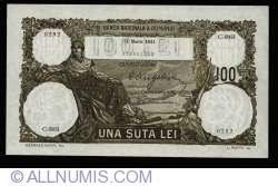 100 Lei 1931 (31. III.)
