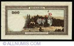 500 Lei 1940 (1. XI.) - SPECIMEN