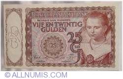 Imaginea #1 a 25 Gulden 1944 (11. IV.)
