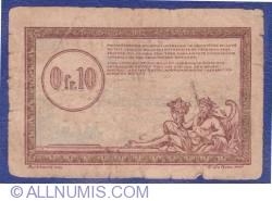 Image #1 of 0.10 Francs 1923 (ND) - Régie des Chemins de Fer des Territoires occupés
