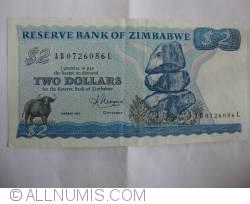 Imaginea #1 a 2 Dolari 1983