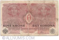 Imaginea #1 a 1 Korona 1916 (1. XII.) (1919)
