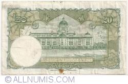 Image #2 of 20 Baht ND (1953) - signatures Serm Vinichchaikul / Puey Ungpakom (41)