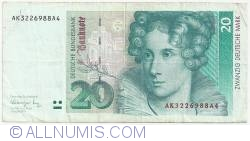 Image #1 of 20 Deutsche Mark 1991 (1. VIII.)