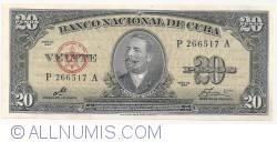 Imaginea #1 a 20 Pesos 1960