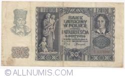 Image #1 of 20 Zlotych 1940 (1. III.)