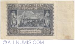 Image #2 of 20 Zlotych 1940 (1. III.)