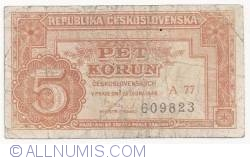 5 Korun 1949 (25. I.)
