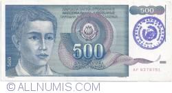 Imaginea #1 a 500 Dinari ND (1992)