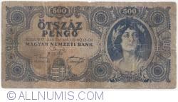 Imaginea #1 a 500 Pengö 1945