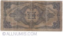 Imaginea #2 a 500 Pengö 1945