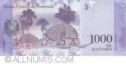 Imaginea #2 a 1000 Bolivares 2016 (18. VIII.)
