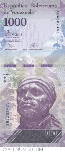 Imaginea #1 a 1000 Bolivares 2016 (18. VIII.)