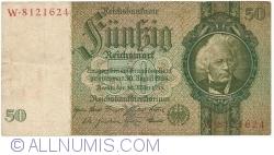 Imaginea #1 a 50 Reichsmark 1933 (30. III.) - X (serie cu 7 cifre)
