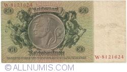 Imaginea #2 a 50 Reichsmark 1933 (30. III.) - X (serie cu 7 cifre)