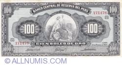 Imaginea #1 a 100 Soles de Oro 1964 (13. III)