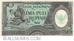 Image #1 of 50 Rupiah 1964