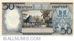 Image #2 of 50 Rupiah 1964