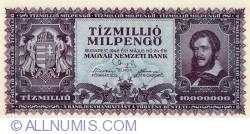 Imaginea #1 a 10 Milioane (Tízmillió) Milpengő 1946 (24. V.)