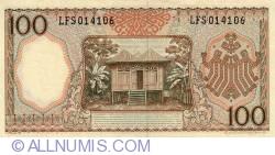 Image #2 of 100 Rupiah 1964