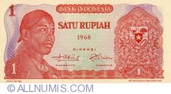 1 Rupiah 1968