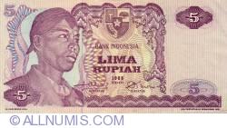 Image #1 of 5 Rupiah 1968