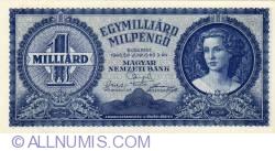 Imaginea #1 a 1 Miliard Milpengő 1946 (3. VI.)