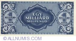 Imaginea #2 a 1 Miliard Milpengő 1946 (3. VI.)