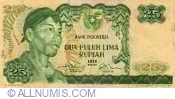 Image #1 of 25 Rupiah 1968