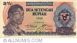 Image #1 of 2 1/2 Rupiah 1968