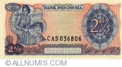 Image #2 of 2 1/2 Rupiah 1968