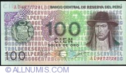 Image #1 of 100 Soles de Oro 1976 (22. VII.)