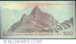 Image #2 of 100 Soles de Oro 1976 (22. VII.)