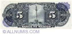 Image #2 of 5 Pesos 1961 (25. I.)