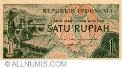 Image #1 of 1 Rupiah 1961