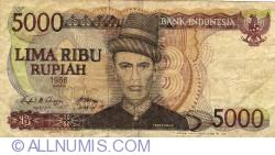 Image #1 of 5000 Rupiah 1986