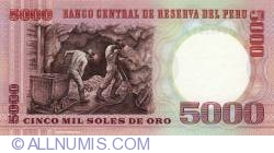 5000 Soles de Oro 1985 (21. VI.)
