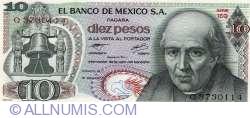 Image #1 of 10 Pesos 1977 (18. II.)