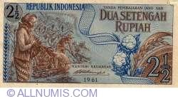 Image #1 of 2 1/2 Rupiah 1961