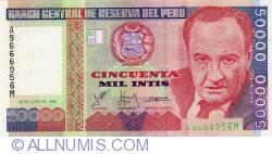50,000 Intis 1988 (28. VI.)